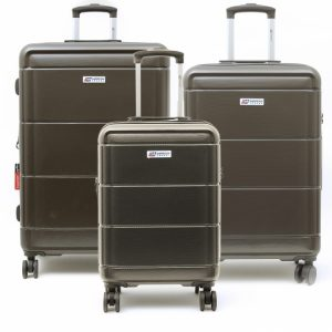 סט 3 מזוודות קשיחות American Travel