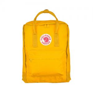 תיק גב קלאסי בצבע צהוב Kanken
