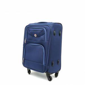 מזוודה טרולי עלייה למטוס קטנה חזקה איכותית ופרקטית SWISS TRAVEL CLUB
