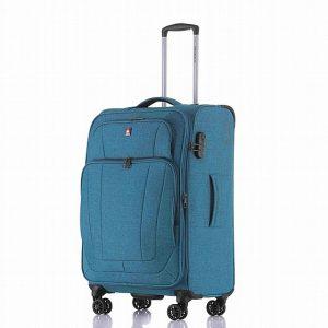מזוודה קטנה 20 איינץ רכה קלה חזקה ואיכותית SWISS ALPS