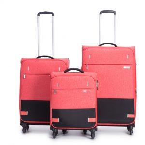 סט 3 מזוודות איכותיות במראה עסקי ייחודי ומרהיב SWISS MONT BLANC סוויס
