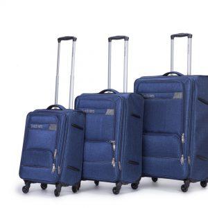 סט 3 מזוודות איכותיות קלות וחזקות SWISS ST MORITZ סוויס