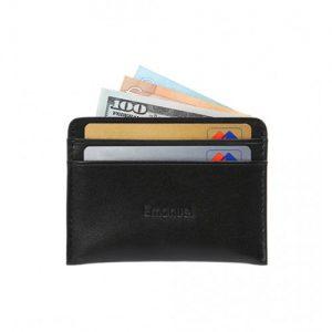 ארנק עור כרטיסים לגבר במראה עסקי רשמי EMANUEL