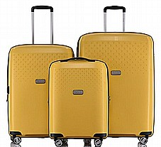 סט 3 מזוודות חזקות איכותיות ועמידות Jeep Redwood