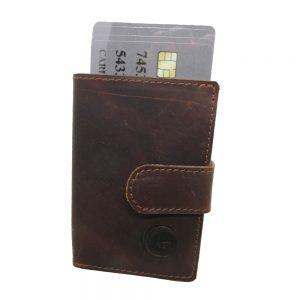 ארנק כרטיסים ושטרות בסגנון עסקי רשמי AMERICAN TRAVEL