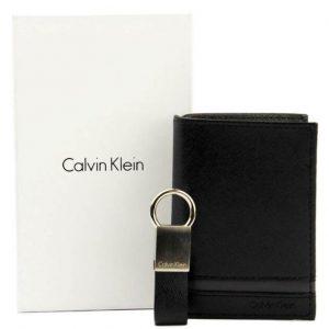 ארנק עור בעיצוב אירופאי CALVIN KLEIN קלווין קליין