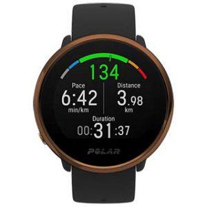 שעון כושר עם GPS ומדידת דופק במפרק כף היד POLAR IGNITE