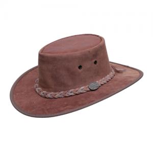 כובע מעור קנגורו אמיתי בצבע חום Barmah