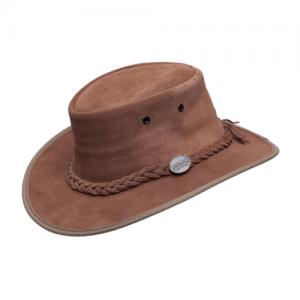 כובע זמש בצבע אגוז Barmah