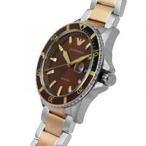 שעון יד לגבר במראה אלגנטי עסקי EMPORIO ARMANI